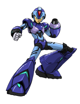 Mega Man X 2014 by Elden-rucidor