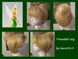 Tinkerbell Wig by haru5319