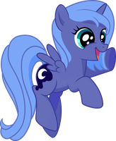 Filly Luna Is Happy by strawberrythefox1452