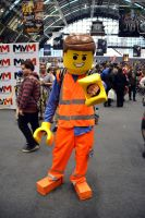 Lego Man Cosplay by masimage