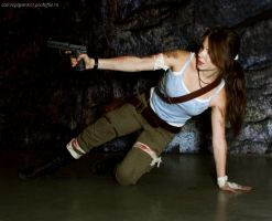 Lara Croft-A Survivor Is Born by Anastasya01