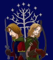 sons of gondor by enolianslave