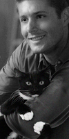 Dean and a Kitty by ZoeyFagerlid