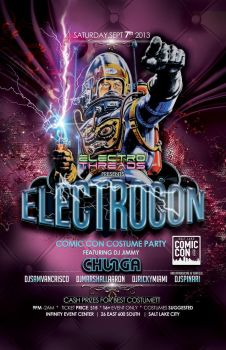 Electrocon Poster by montgomeryq
