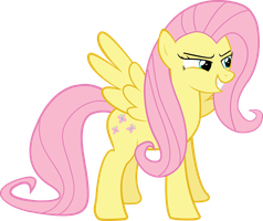 Flutter-not-so-shy by The-Crusius