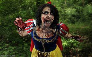 Zombi Snow White by NecroSFX