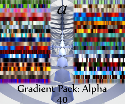 Gradient Pack: Alpha by Drummerboy08