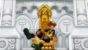 Sora - Make Sure I'm Wearing Green and Gold by rev-rizeup