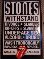 rolling stones poster by LilyLondon9