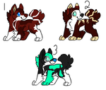 Pup Adopts Batch 2- Open by PepperMintAdopts
