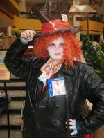 AWA-con Mad Hatter by clockworkcosplay