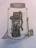 undertaker in a jar by Electronic-Arcanix