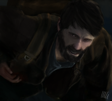 Joel wounded by lombaxesdimension