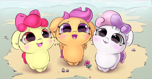 Cutie mark cuties by Sverre93
