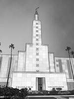 Los Angeles LDS Temple by JTSilversmith