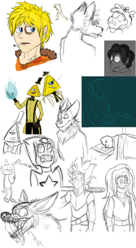 Digital Sketchdump by Chillaid
