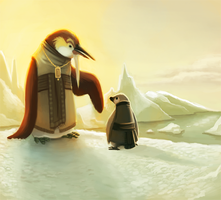 Daily 2 - Emperor of the Penguins by Cryptid-Creations