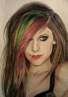 avril lavigne by anorexic-bones
