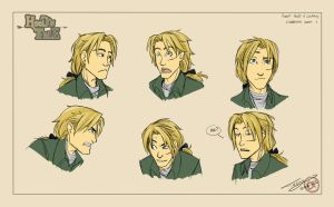 Robin Expression Study 1 by Ticcy