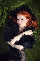 velvet green and ginger red by gestiefeltekatze
