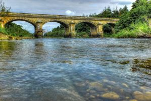 The Tyne At Stocksfield by Vandriving