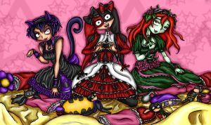 Kawaii Sirens by Tragic-Ballerina
