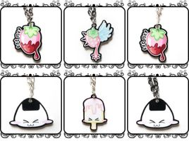 Milk-Berry necklaces by MilkyBerry