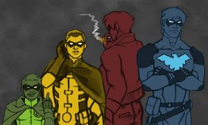The Robins by ReaperClamp