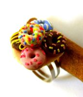Donuts Ring by FamousCupcake24