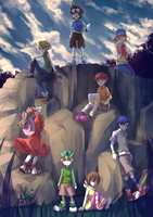 Digimon 15th anniversary by iTsuyaAme