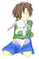 Bunny boy colored... by ding1989