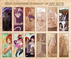2012 Summary of Art by sionra