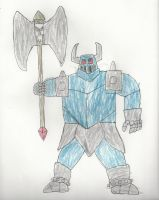 the tought Iron Knuckle knight by trexking45