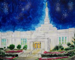 Montreal, QC LDS Temple by Ridesfire