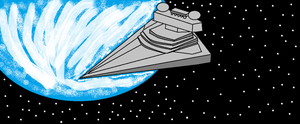 Imperial Star Destroyer by scifiguy9000