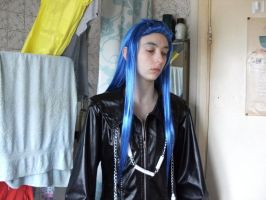 Saix Test-:BEFORE WIG STYLED:- by ruuwolf