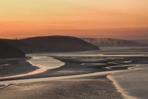 Laugharne Estuary by CharmingPhotography