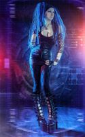 Cyber Female by Elena-NeriumOleander