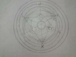 Human Transmutation Circle by CourtneyMonroe