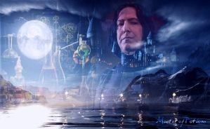 Snape collage by Sylvadove