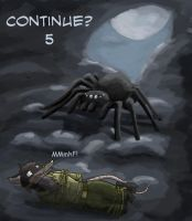 Continue countdown: Offering to the spider by SteinWill