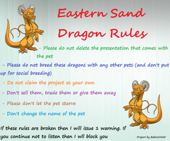 Eastern Sand Dragon Rules Banner - Ovipets by starscreamfan10100