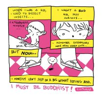 Buddhist Bugs by reyyyyy