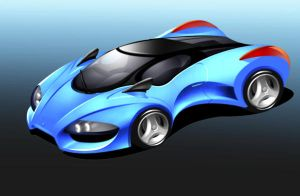 Car Concept no.001 by MobileSuitGio