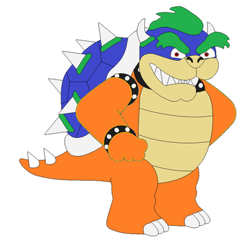My Bowser form by TolkarDragon18
