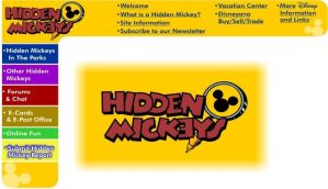 Hidden Mickeys.org by AeonDesika