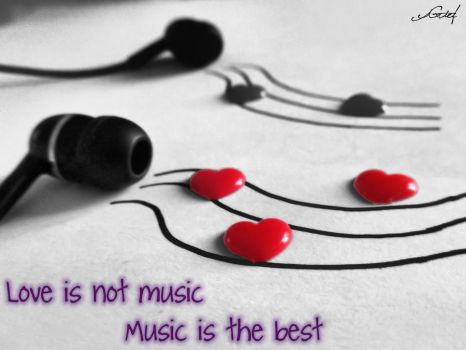 Music is the best... by BrokenWomen