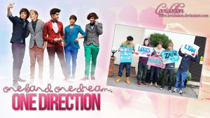 One Direction Wallpaper by lovidation
