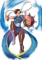 Chun li Super Street Fighter 4 by ultimatewp