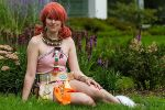 Final Fantasy XIII - Flowerbed by MsKitty77